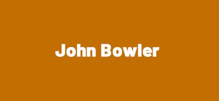 Sponsor John Bowler